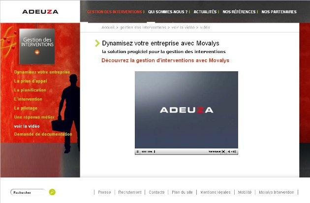 Adeuza – Movalys Mobile